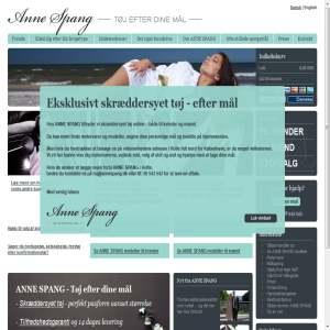 ANNE SPANG - Skræddersyet tøj online