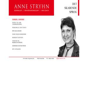 Anne Stryhn | jobansøgning og CV for private
