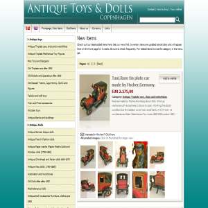 Copenhagen antique toys & dolls