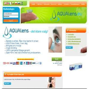 AQUAlens - Billige kontaktlinser - spar op til 45%