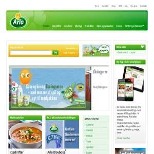 Arla.dk - Arla Foods
