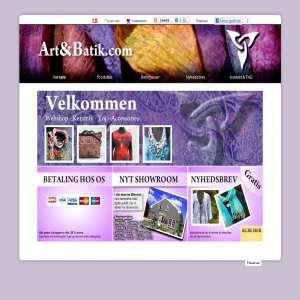 Art and Batik - kunstnerlavede smykker