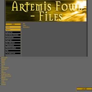 Artemis Fowl - Files