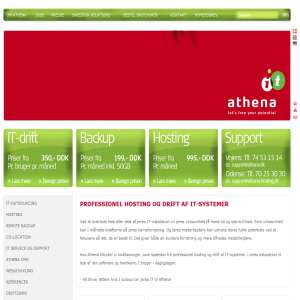 Athena IT-Group - Professionel hosting og drift af IT-systemer