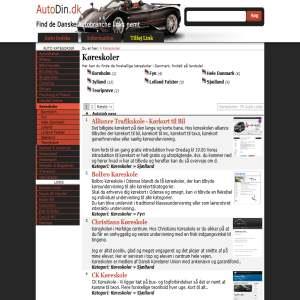 AutoDin.dk | Biler i lange baner - Guide
