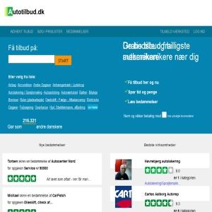 Autotilbud.dk -Hent priser fra autoværksteder