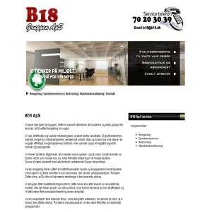 B18 Gruppen aps