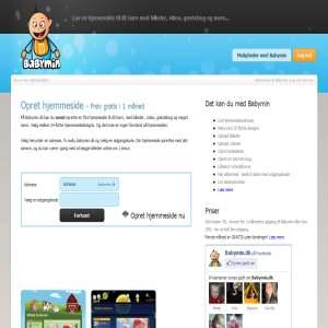 BabyMin.dk - hjemmeside til din baby