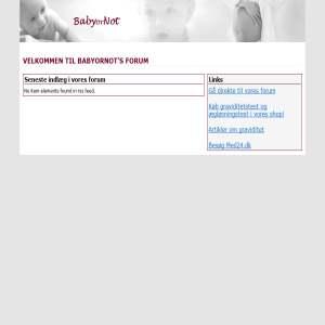 BabyOrNot Forum
