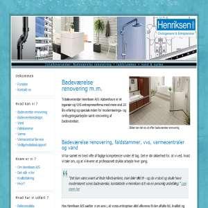 Renovering af badeværelser m.m.