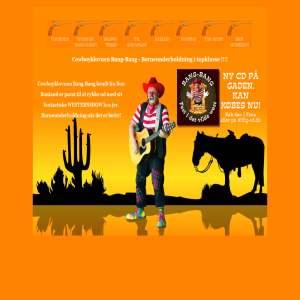 Cowboyklovnen Bang-Bang - Børneunderholdning i topklasse!