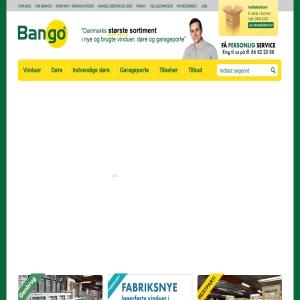 Bango.dk - Danmarks største shop for vinduer, porte og døre