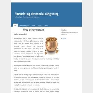 Finansiel & økonomisk rådgivning