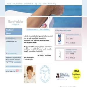 Barefødder - webshop for fodterapi