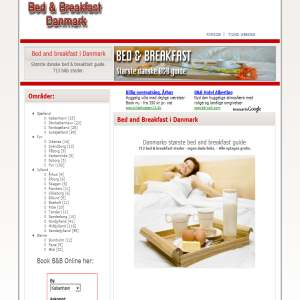 Bed and Breakfast i Danmark