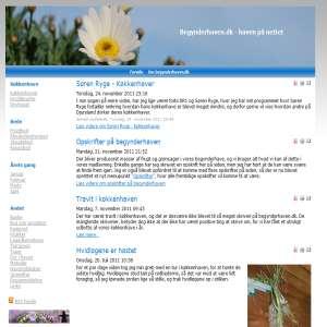 Begynderhaven - haven på nettet