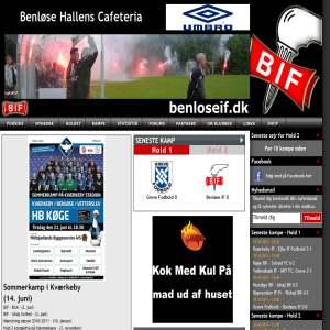 Benlose IF - Seniorfodbold