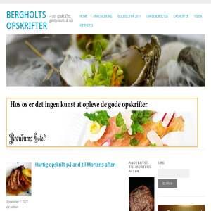 Bergholts opskrifter