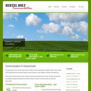 Bertel Bolt Kommunikation - Gode historier her & nu