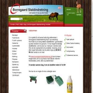 Borregaard staldindretnings webshop