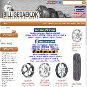 Billige Bil dæk, Sommerdæk, Vinterdæk & Alufælge