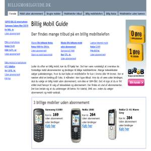 Billig Mobil Guide