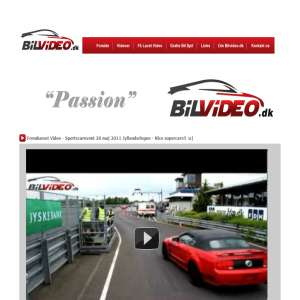 Bilvideo.dk - super sportsvogne