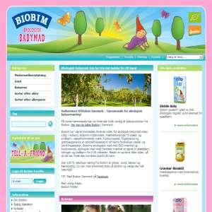 Biobim - økologisk og biodynamisk babymad