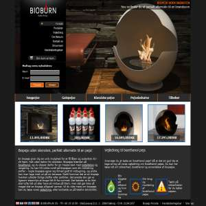 Bioburn - alt i biopejse og bioethanol