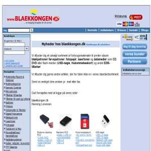 blaekkongen.dk - en kongelig fornøjelse for din printer