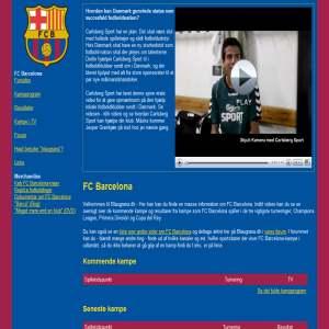 Blaugrana.dk - FC Barcelona-side