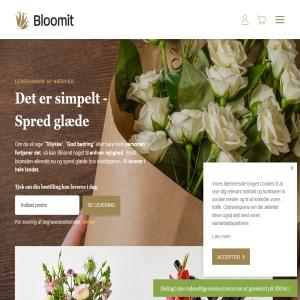 Bloomit.dk - Send blomster på nettet