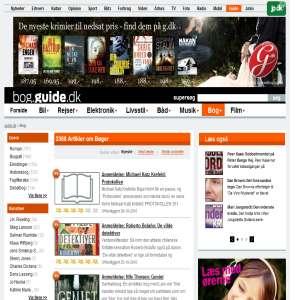 Læs anmeldelser om udgivelser og forfattere på bog.guide.dk