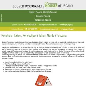 Boliger i Toscana