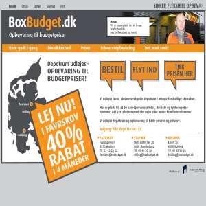 BoxBudget - Opbevaring og depotrum udlejes billigt
