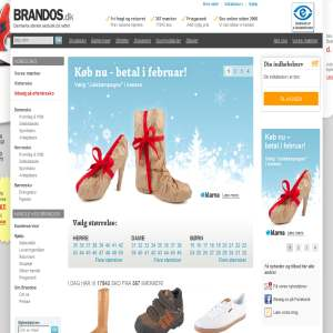 BRANDOS.dk - Danmarks største skobutik på nettet.