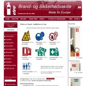Brandskilte | Brand- og Sikkerhedsskilte