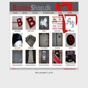 BroderiShop.dk
