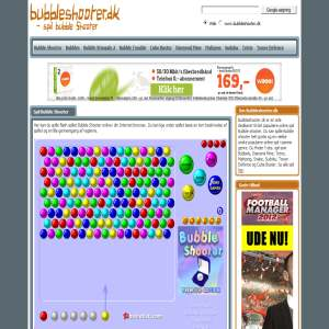 Spil Bubble Shooter online på Bubbleshooter.dk