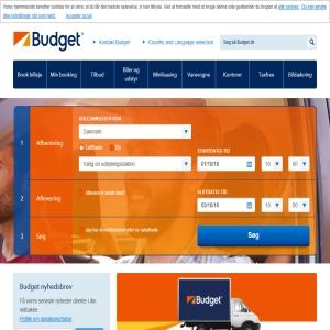 billig biludlejning budget.dk