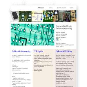 Elektronik HW & SW udvikling outsourcing til Indien