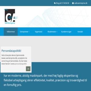 CA Entreprise og vognmandsforretning Aps