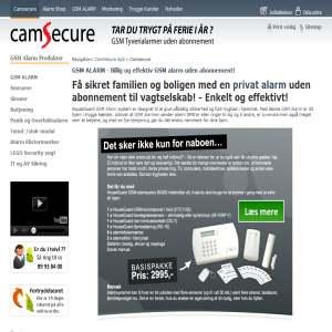 CamSecure.dk - Online Videoovervårgning - Enkelt og effektivt!