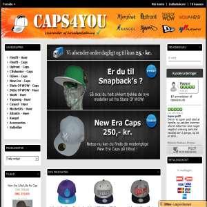 Caps4you - Stort udvalg af Flexfit Caps