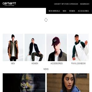 Carhartt online shop