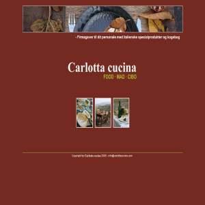 Carlotta cucina - firmagaver med italienske specialprodukter