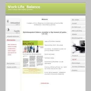 Center for balance mellem arbejdsliv og familieliv