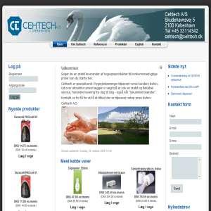 Cehtech A/S - Hygiejneprodukter