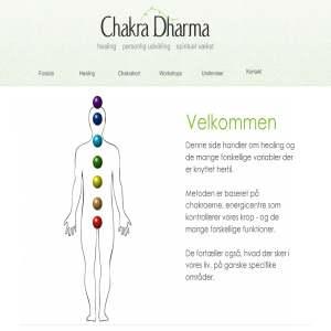Chakra Dharma, workshops i healing & synsforbedring