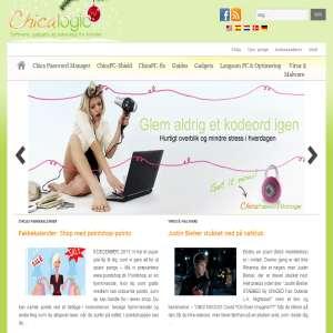 Find software, guide og gadget til kvinder hos ChicaLogic